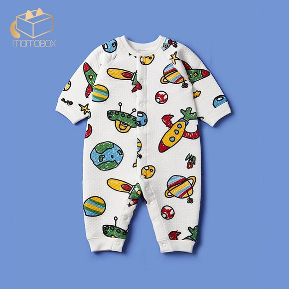 Super Cute Cotton Baby Fall Jumpsuit