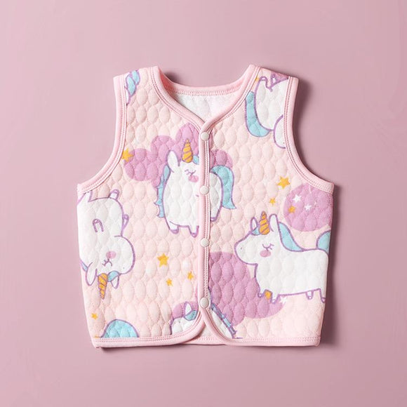 Autumn winter baby cotton thermal vest