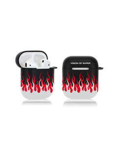 Double Flames AirPods Case