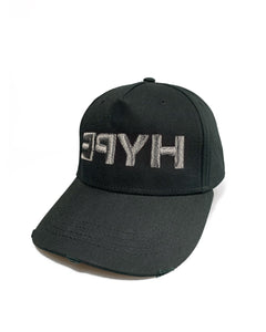 Grey Hype Black Curve Cap