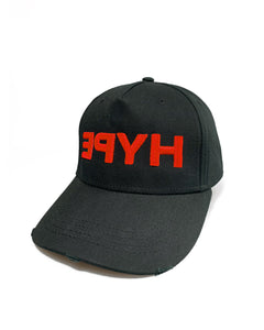 Red Hype Black Curve Cap