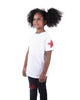 Kids - Red Star White T-shirt