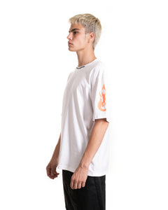 Orange Fire Double T-shirt