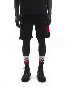 Black Shorts Red Star