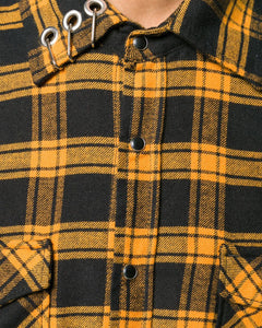 Yellow Piercing Tartan shirt