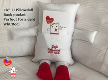 "Load image into Gallery viewer, (AA) 18"" JJ Pillowdoll ""LOVE YOU plus BOOK"""