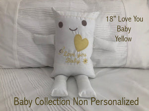 "(G) JJ Pillowdoll Baby Collection ""Non Personalize"" Generic"