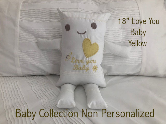 (G) JJ Pillowdoll Baby Collection
