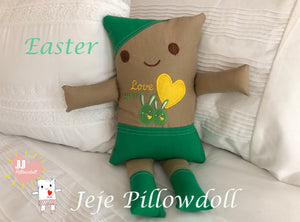 "(E) JJ Pillowdoll ""Easter Collection"""