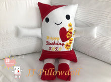 "Load image into Gallery viewer, (B) JJ Pillowdoll ""Happy Birthday"""