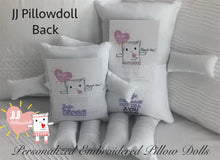 "Load image into Gallery viewer, (B) JJ Pillowdoll ""Big & Small""  TE AMO"