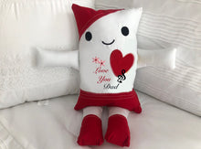 "Load image into Gallery viewer, (D) JJ PIllowdoll ""LOVE YOU DAD"""