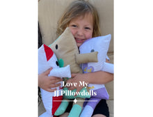 "Load image into Gallery viewer, (B) JJ Pillowdoll ""Tooth Fairy Loves YOU"""