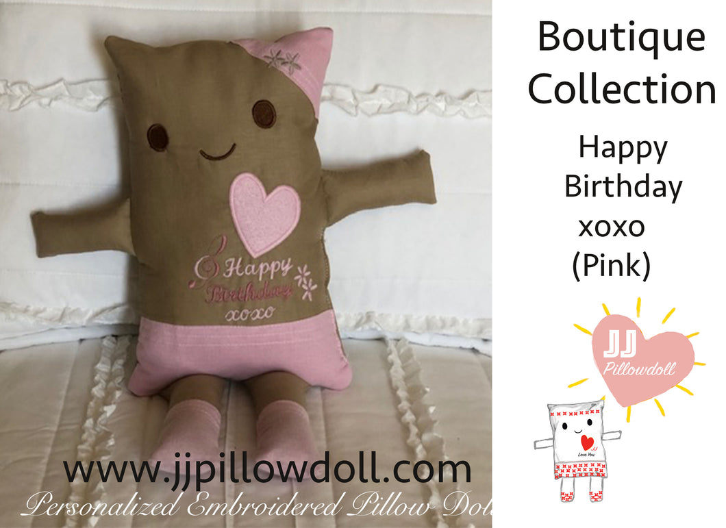 (B) JJ Pillowdoll Boutique Collection