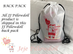 "(B) JJ Pillowdoll Boutique Collection ""Happy Birthday XOXO"" For Personalization ad the name in the ""Notes Section"""