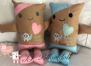 "(B) JJ Pillowdoll ""Tooth Fairy Loves YOU"""