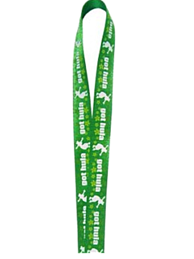 Hawaiian Hula Girl Lanyard Got Hula