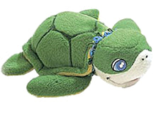Load image into Gallery viewer, Hawaiian Green Honu Stufffed Turtle & Opposites Book Gift Set