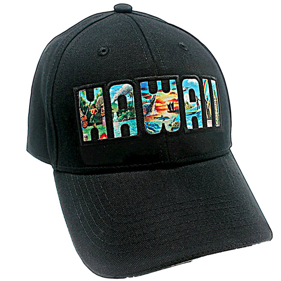 Hawaii Hawaiian Aloha State Baseball Cap Hat By Eddy Y