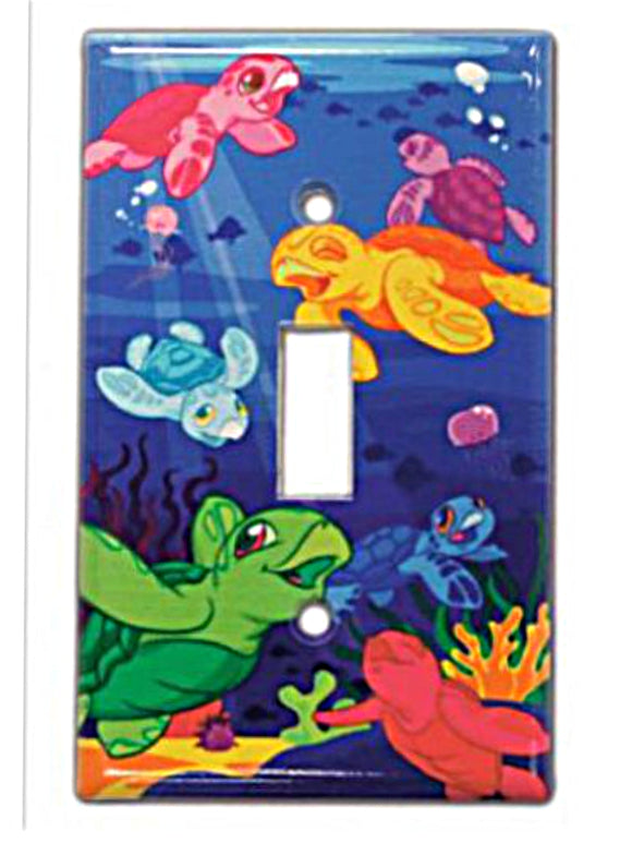 Hawaiian Switchplate Cover Honu Turtle Keiki