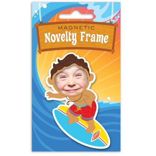 MAGNETIC EVA NOVELTY FRAME -MY SURFER DUDE