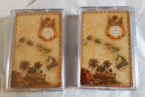 2 Sets of Playing Cards of the Hawaiian Island