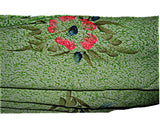 East of Maui Hawaiian Store HAWAIIAN GREEN HIBISCUS FLOWERS PAREO BEACH WRAP COVER UP SARONG