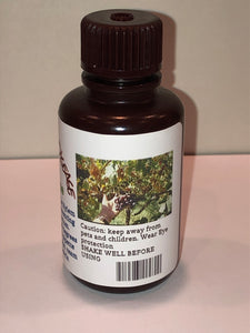 Pierce's Disease Be Gone ™ All Organic 60 ml promotes healing of grapevine
