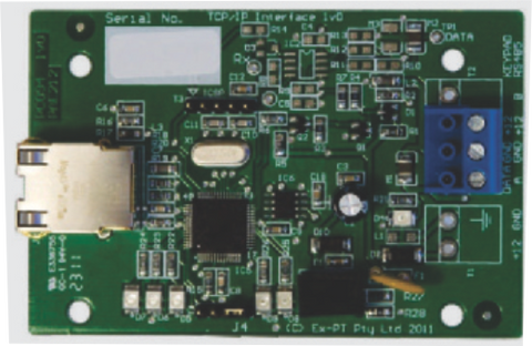 JVA TCP / IP Board - Z Range