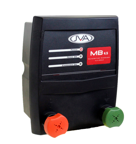 JVA MB 4.5 Mains/Battery Energizer