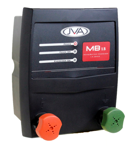 JVA MB 1.5 Mains/Battery Energizer