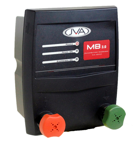 JVA MB 3 Mains/Battery Energizer