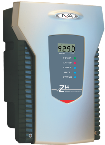 JVA Z14 1 Zone Security Energizer 5 Joule with LCD Display *