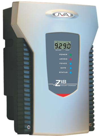 JVA Z18 1 Zone Security Energizer 8 Joule with LCD Display *