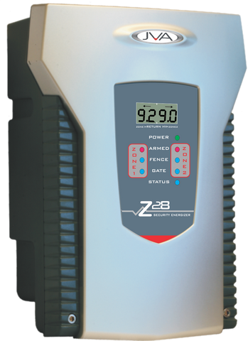 JVA Z28 2 Zone Security Energizer 8 Joule with LCD Display *