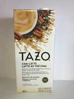 photo of chai mix carton - made by Tazo