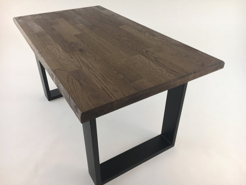coffee table wildeiche massiv tischkufen