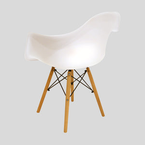 Sessel Classic Big weiss www.svo-living.com Eames DAW Style