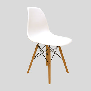 Sessel Classic weiss www.svo-living.com Eames DSW Style