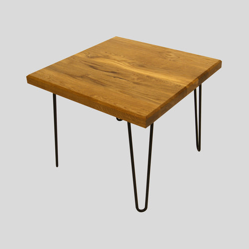 Coffee Table Oak www.svo-living.com hair pin legs hairpin