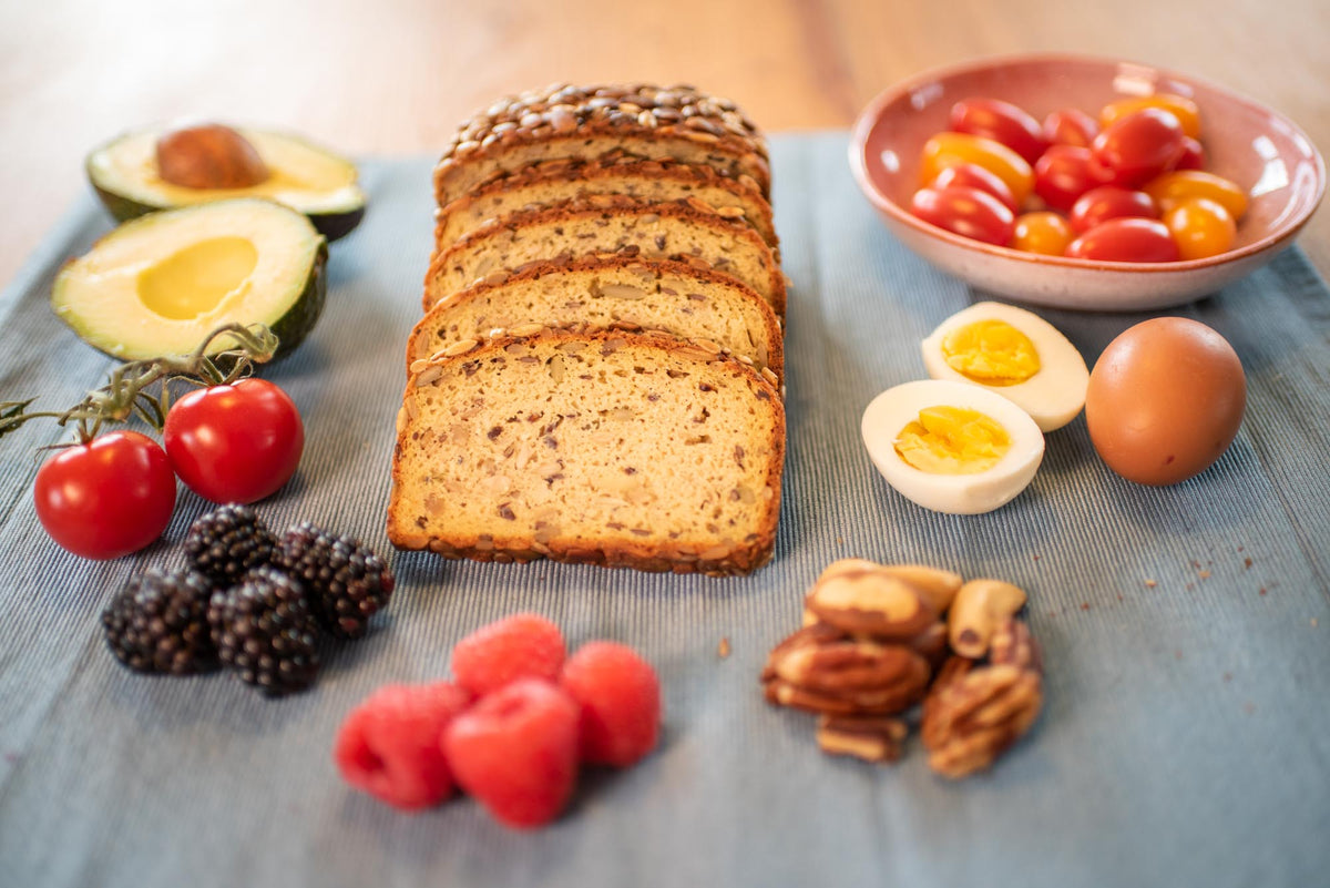 Vivere180 low-carb and gluten-free bread, 400grams.