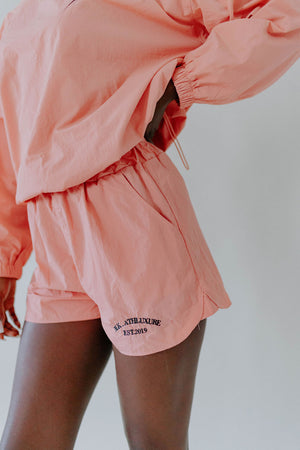 Windy Pink Windbreaker Set