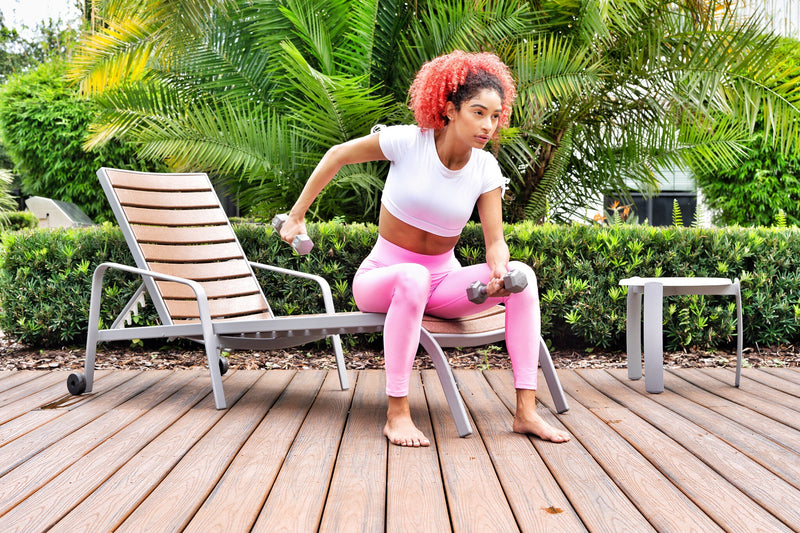 Pink Lyla Liquid Leggings