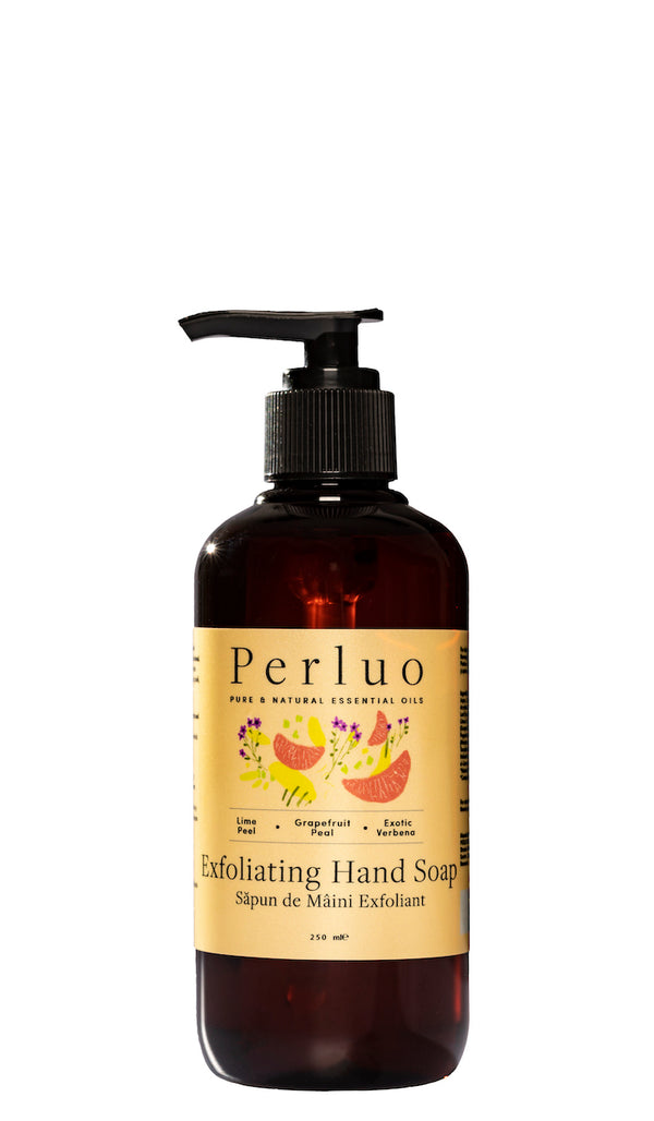 EXFOLIATING HAND SOAP - LIME, GRAPEFRUIT AND VERBENA