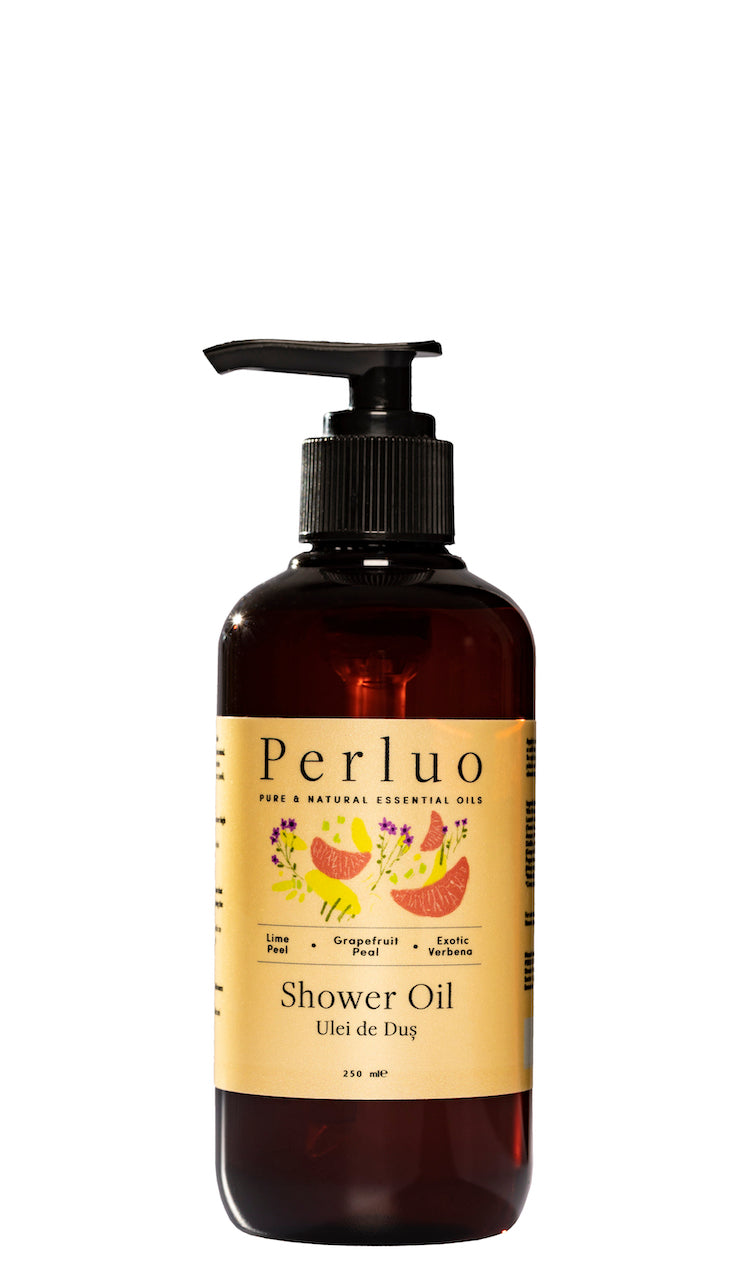 SHOWER OIL - LIME, GRAPEFRUIT AND VERBENA