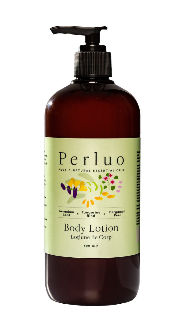 BODY LOTION - GERANIUM, BERGAMOTE AND TANGERINE