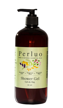 SHOWER GEL - GERANIUM, BERGAMOTE AND TANGERINE