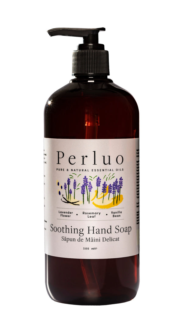 SOOTHING HAND SOAP - LAVENDER, ROSEMARY AND VANILLA