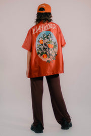 ORANGE BLOSSOM HAWAIIAN SHIRT