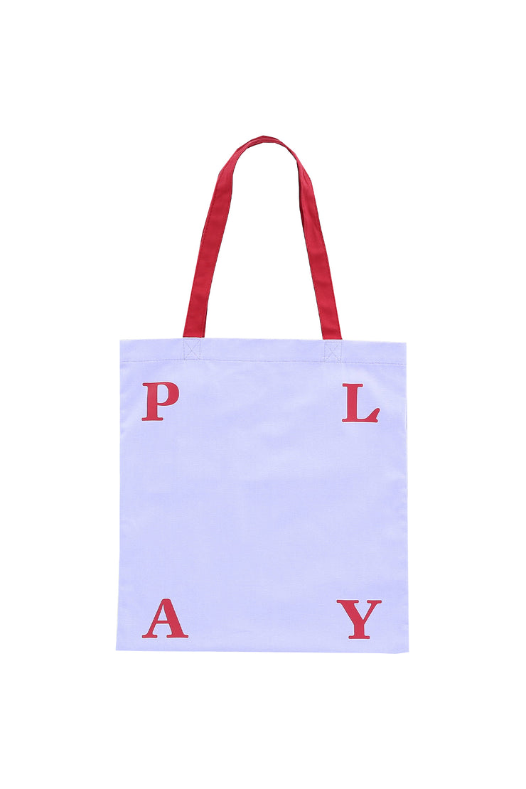 Purple Signature Playhood Tote